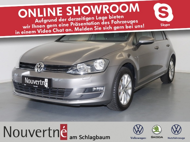 Volkswagen Golf VII 1.2 TSI Lounge + Standheizung + Alu + Te, Jahr 2015, Benzin
