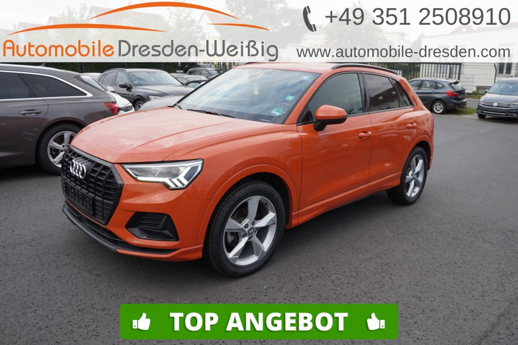 Audi Q3 35 TFSI advanced*Navi*DAB*HiFi*AHK, Jahr 2019, Benzin