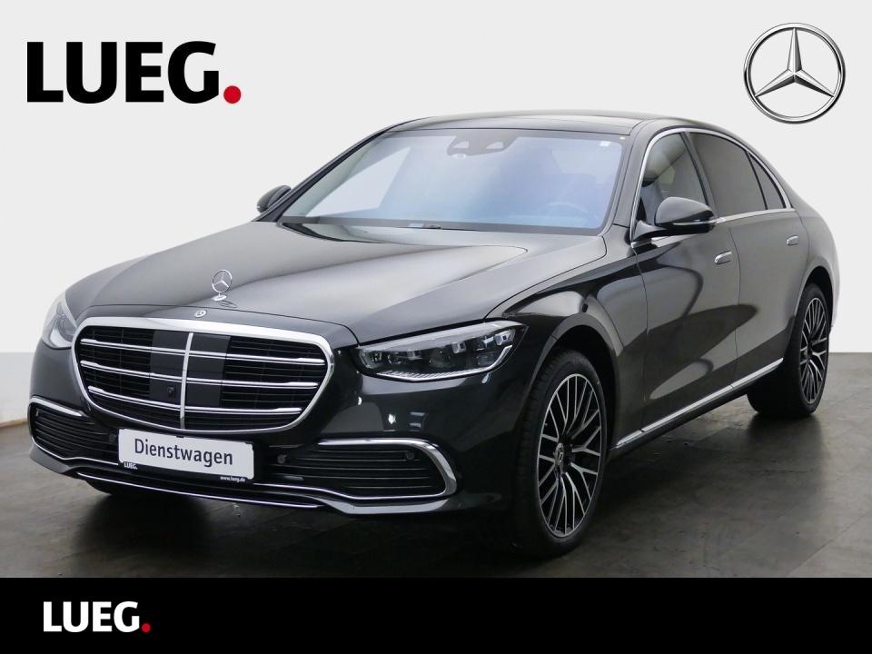 Mercedes-Benz S 500 4M L CHAUFFEUR+AHK+TV+FOND-ENTERT.+NP176T, Jahr 2021, Benzin