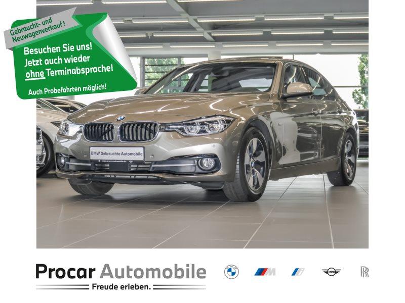 BMW 320d EffDynEdition Sport Line Navi LED ACC Glsd., Jahr 2017, Diesel