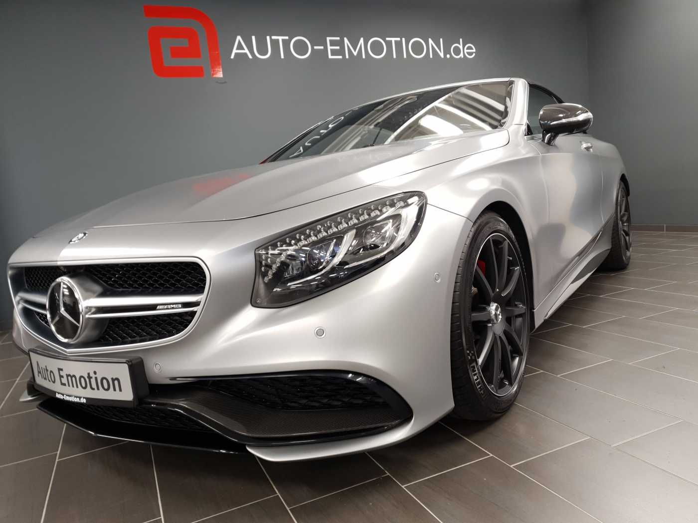 Mercedes-Benz AMG S 63 Cabrio 4Matic AMG Speedshift 7G-MCT MB Garantie*AMG DriverŽs*20'*u.v.m, Jahr 2016, Benzin