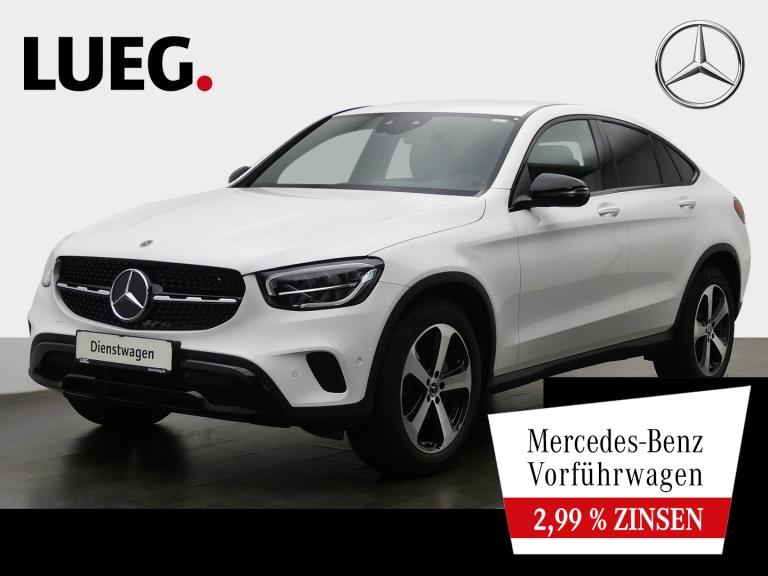 Mercedes-Benz GLC 300 d 4M Coupé NIGHT+LEDER+SITZKLIMA+CARBON, Jahr 2020, Diesel