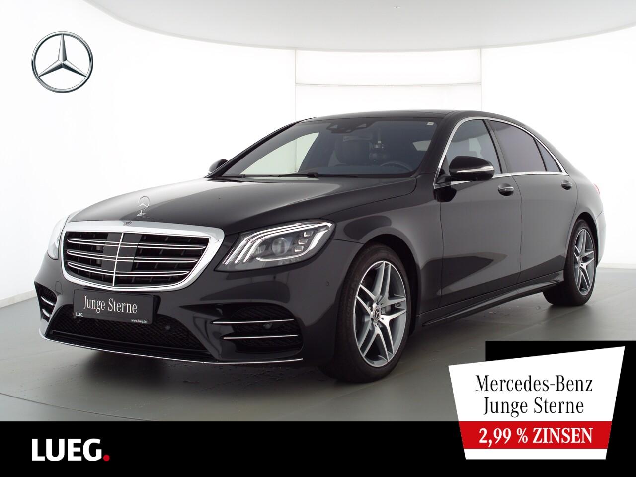 Mercedes-Benz S 450 L 4M AMG+COM+PD+Burm+Mbeam+HUD+FondEnt+360, Jahr 2020, Benzin