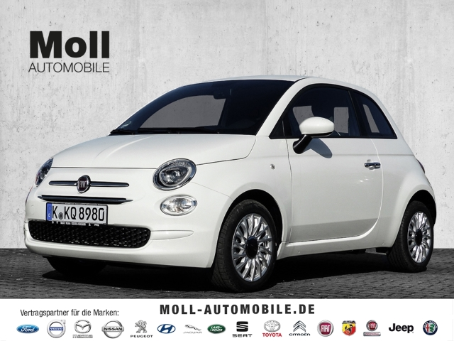 Fiat 500 Hybrid Lounge - Klimaanlage, Apple CarPlay, LED-Tagfahrlicht Multif.Lenkrad RDC Temp, Jahr 2020, Benzin