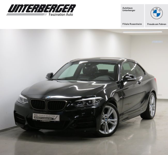 BMW M240i Coupé M Sportpaket HK HiFi LED Navi Prof. Shz, Jahr 2020, Benzin