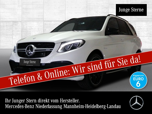 Mercedes-Benz GLE 63 AMG 4M Perf-AbGas Perf-Lenk Active Curve, Jahr 2016, Benzin
