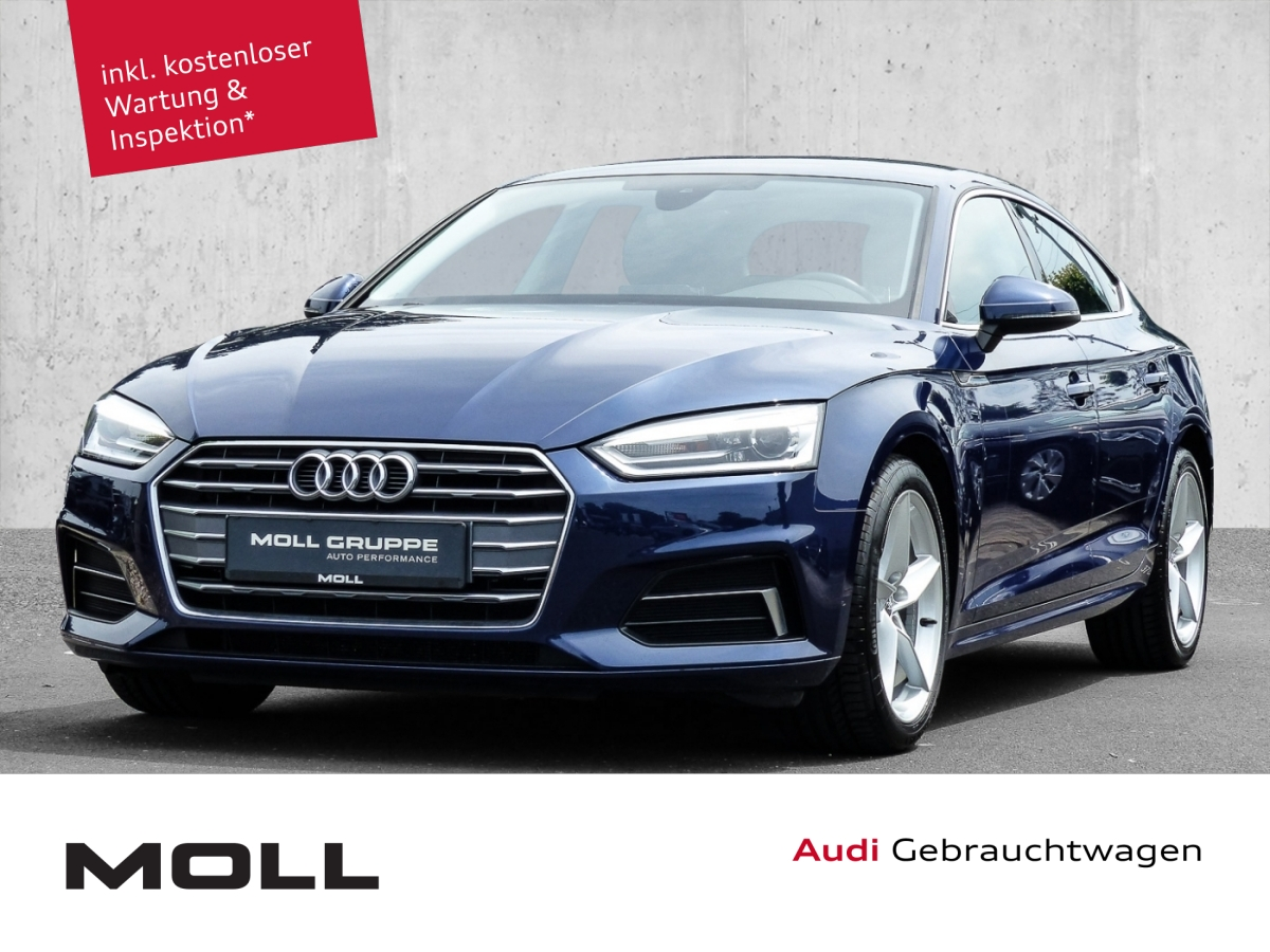 Audi A5 Sportback Sport PreSense Navi Keyless, Jahr 2018, Diesel