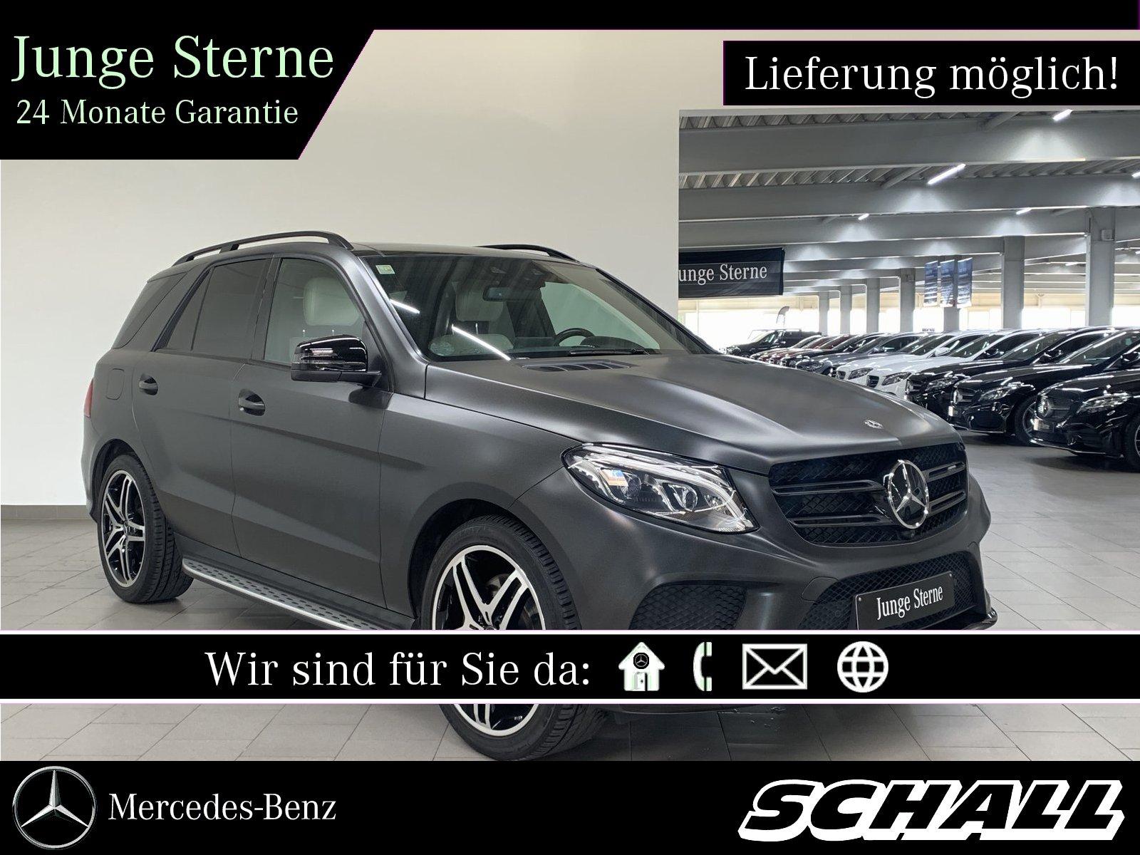 """Mercedes-Benz GLE 43 AMG 4M PANO+DISTR+AHK+21""""AMG+STANDHZ+AIR, Jahr 2017, petrol"""