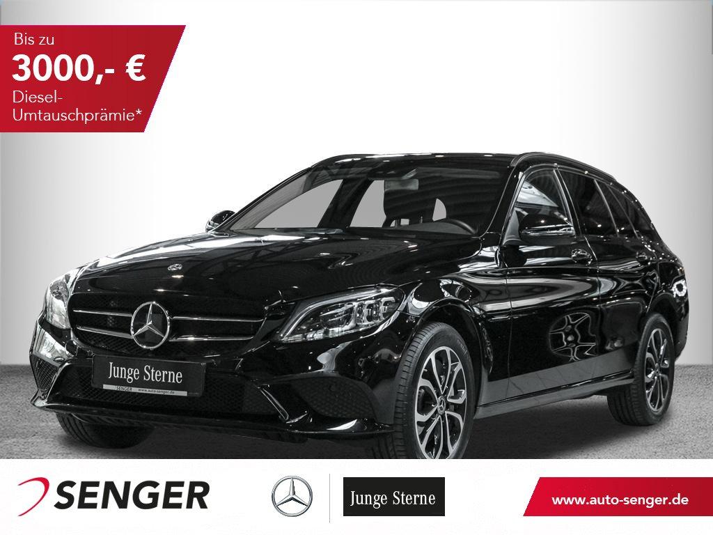 Mercedes-Benz C 400 T 4M *Avantgarde*Distronic*AHK*Coamnd*LED*, Jahr 2018, Benzin