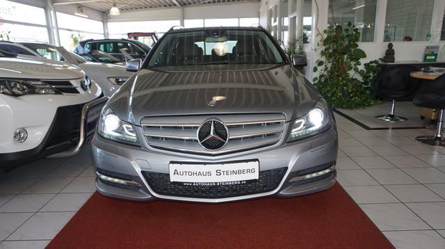 Mercedes-Benz C 200 T CDI 7G-TRONIC PLUS NAVI+AUTOMATIK+AHK+XE, Jahr 2012, Diesel