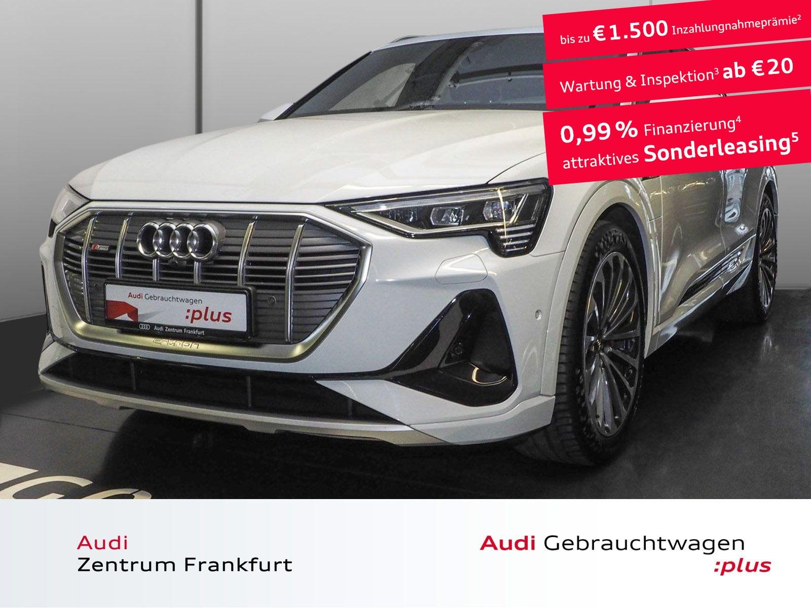 Audi e-tron 55 quattro S line Matrix-LED Navi HuD Panorama, Jahr 2020, Elektro