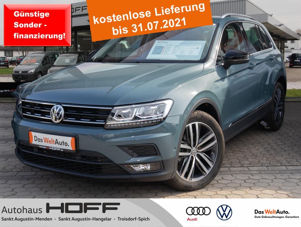 Volkswagen Tiguan 2.0 TDI IQ.DRIVE LED AHK Panorama 19 Ans, Jahr 2020, Diesel