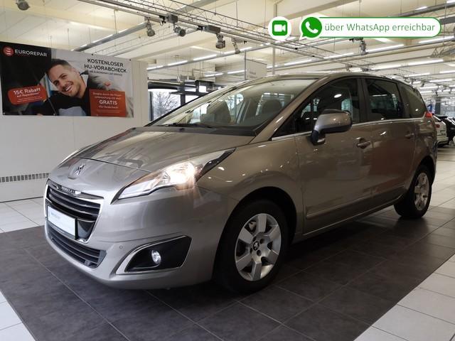 Peugeot 5008 1.6 155 THP Automatik Active/ Navi/ SHZ/ EPH, Jahr 2014, Benzin
