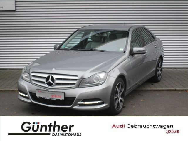 Mercedes-Benz C250 CGI AVANTGARDE+AUTOMATIK+WENIG KM+NAVI+XENO, Jahr 2013, petrol