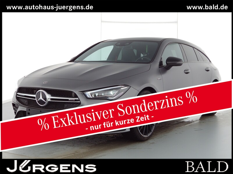 Mercedes-Benz CLA 35 AMG 4M SB Navi-Prem/ILS/Pano/AHK/Magno/19, Jahr 2020, Benzin
