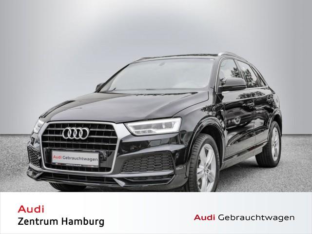 Audi Q3 1,4 TFSI COD sport S tronic S LINE NAVI LED, Jahr 2017, Benzin