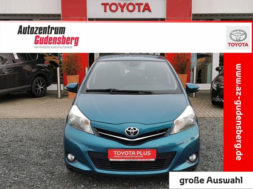 Toyota Yaris 1.0 VVT-i Life / Design 5-Türer Rückfahrkamera, Jahr 2012, petrol
