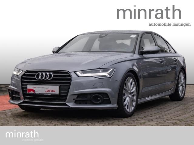 Audi A6 3.0 TDI S line Matrix LED Leder Navi ACC Rückfahrkam. Fernlichtass. AHK, Jahr 2016, Diesel