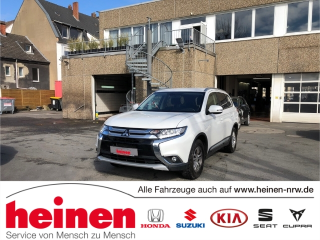 Mitsubishi Outlander 2.0 Star AHK KLIMA TEMPO SITZHZ ALU, Jahr 2016, Benzin