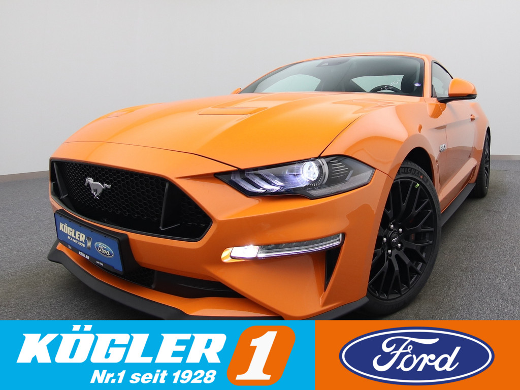 Ford Mustang GT Coupe V8 450PS/Premium-P. II, Jahr 2021, Benzin