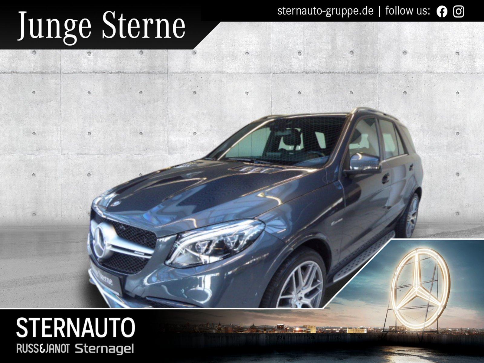 Mercedes-Benz GLE 63 AMG 4M COMAND/Distronic/AIRMATIC/LED/AHK, Jahr 2016, Benzin