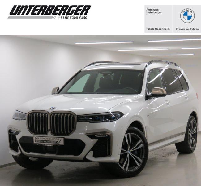BMW X7 M50d Laserlicht AHK Head-Up HK HiFi DAB LED, Jahr 2020, Diesel