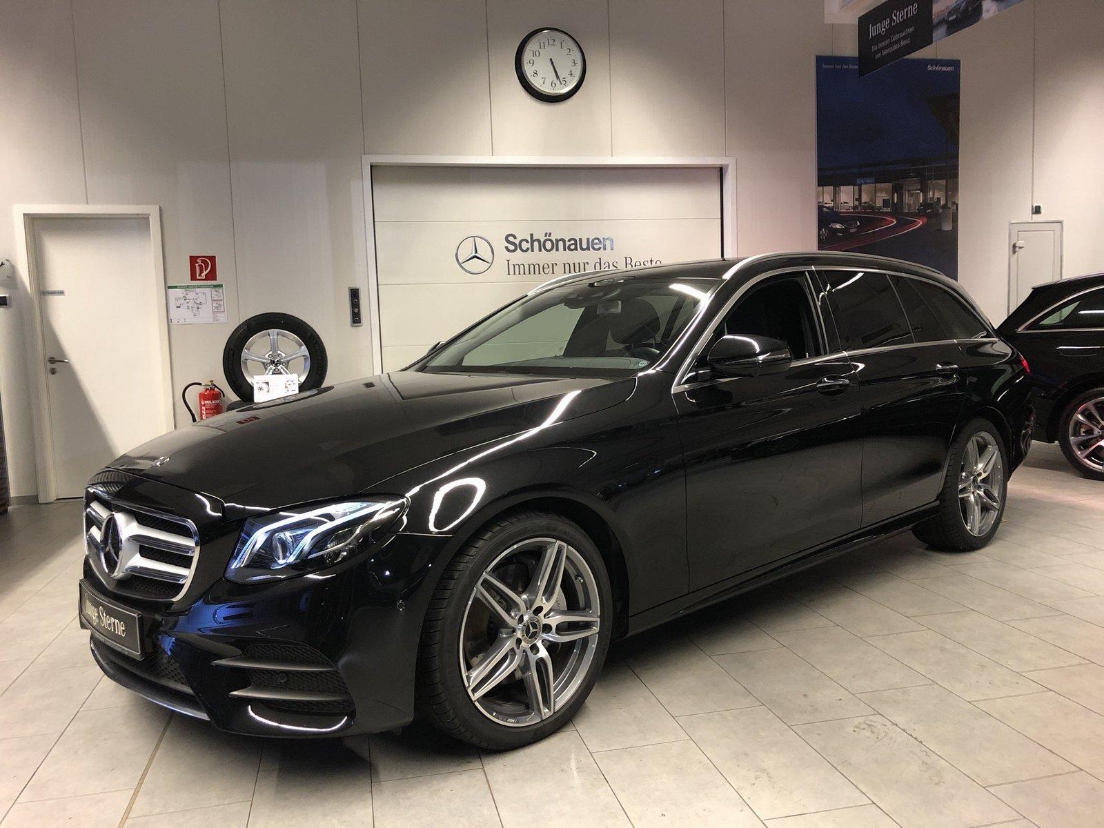 Mercedes-Benz E 220d 4M T AMG+DISTR+SITZKLIMA+COMAND+BURM+360°, Jahr 2019, Diesel