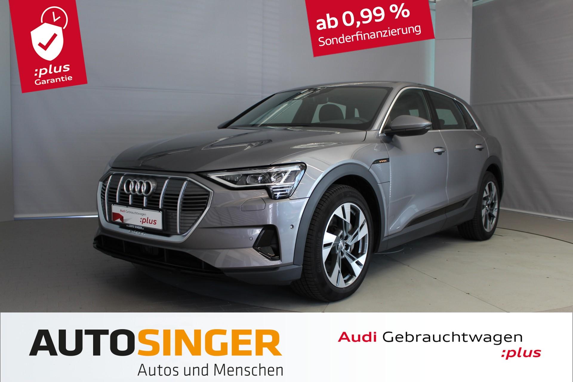 Audi e-tron 55 quattro *AHK*Luftf*LED*Virtual*20'*, Jahr 2019, Elektro