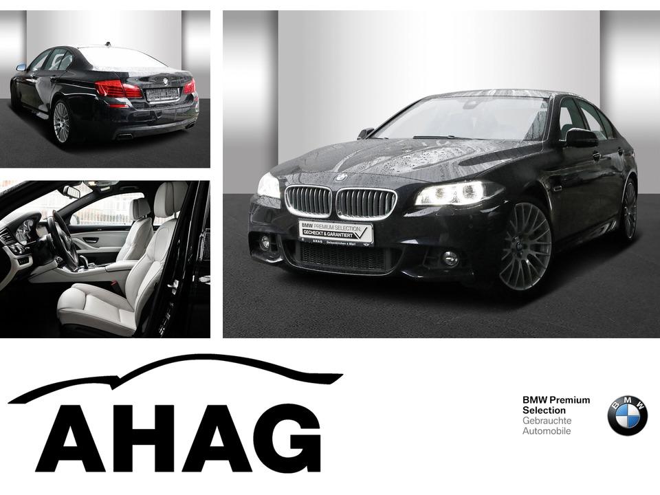BMW 550i xDrive M Sportpaket Navi Prof. Sport Aut., Jahr 2016, petrol