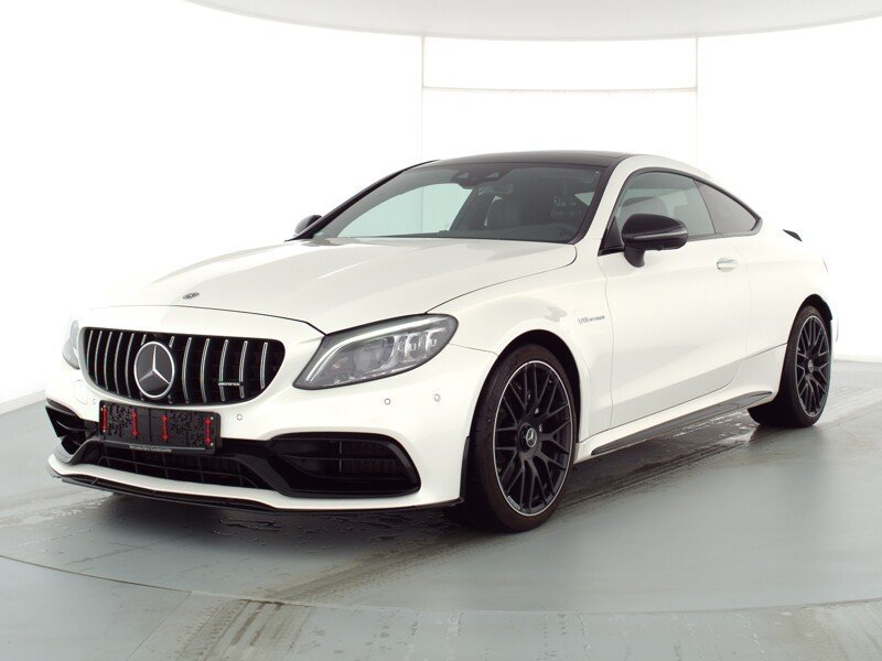mercedes-benz c 63 amg abgasanl pano burmester night distronic, jahr 2020, benzin
