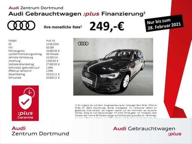 Audi A6 Avant 3.0TDI ACC/Leder/Pano/Navi+/4xSHZ, Jahr 2018, Diesel