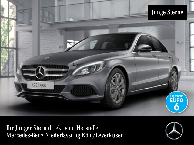 Mercedes-Benz C 250 d 4M Avantgarde LED Kamera Navi EDW PTS 9G, Jahr 2017, Diesel