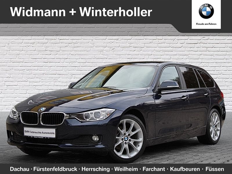 BMW 320d Touring Xenon Navi Tempomat USB Klima Shz, Jahr 2014, diesel