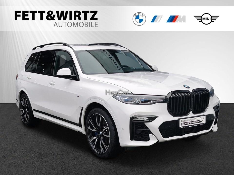 BMW X7 xDrive30d M-Sport Laser HUD Stop&Go H/K 22'', Jahr 2019, Diesel