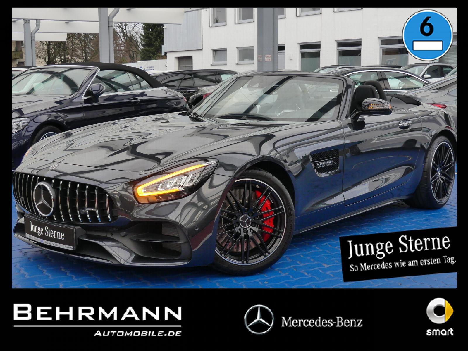 Mercedes-Benz AMG GT S Roadster +Sportpaket+Distronic+R-Kamera, Jahr 2019, Benzin