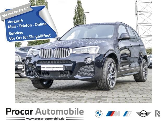 BMW X3 xDrive35d M Sport Head-Up LED H/K AHK Pano, Jahr 2017, Diesel