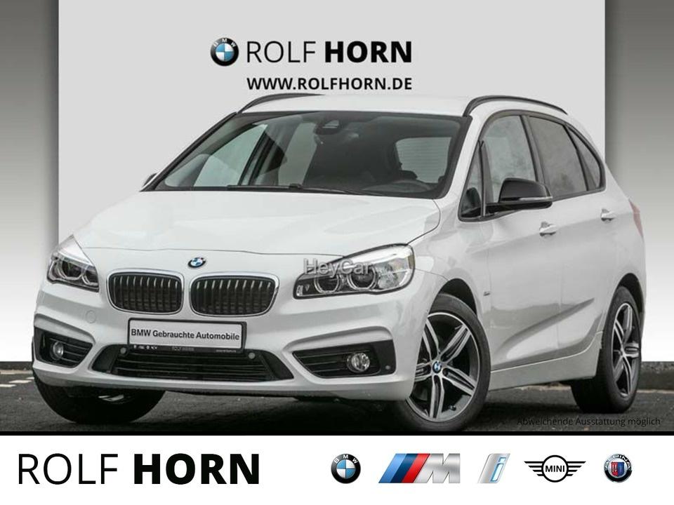 BMW 216 Active Tourer Sport Line Aut. Klima PDC LED, Jahr 2017, Diesel