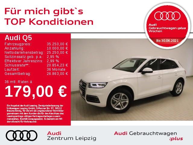 Audi Q5 2.0 TDI design quattro *Businesspaket*Matrix*, Jahr 2018, Diesel