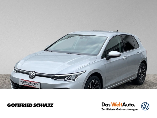Volkswagen Golf 8 2.0 TDI LED NAVI KAMERA LimS5 Life (EURO 6d-TEMP), Jahr 2020, Diesel