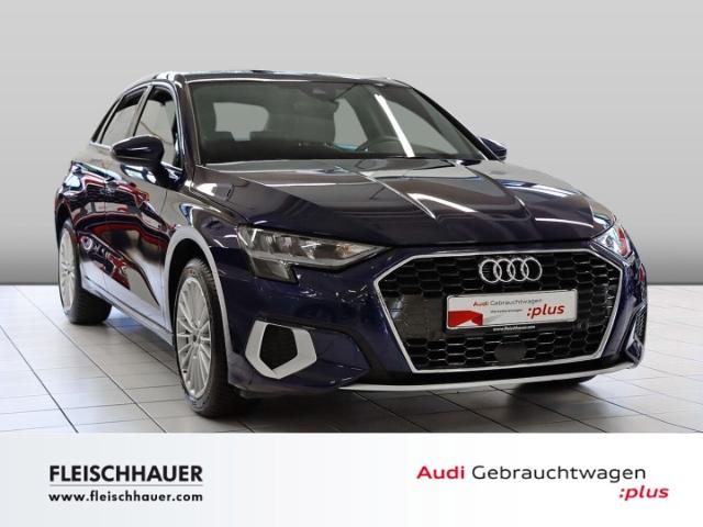 Audi A3 Sportback 30 TFSI advanced Navi+LED+VC+Sound+PhoneBox, Jahr 2020, Benzin