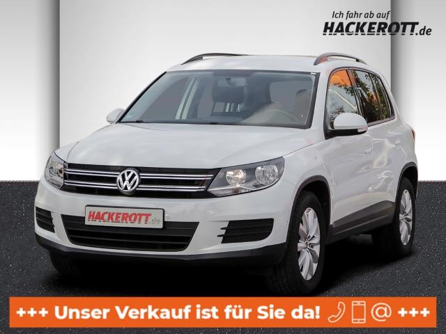 Volkswagen Tiguan Trend & Fun BMT 1.4 TSI Parklenkass. PDCv+h Tel.-Vorb. Multif.Lenkrad RDC, Jahr 2014, Benzin
