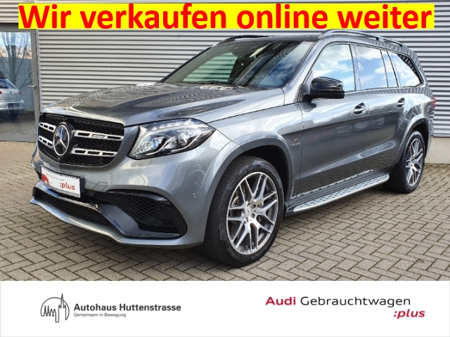 Mercedes-Benz GLS 63 AMG GLS-Klasse 4Matic 7-Sitzer Leder LED Navi e-Sitze, Jahr 2018, Benzin
