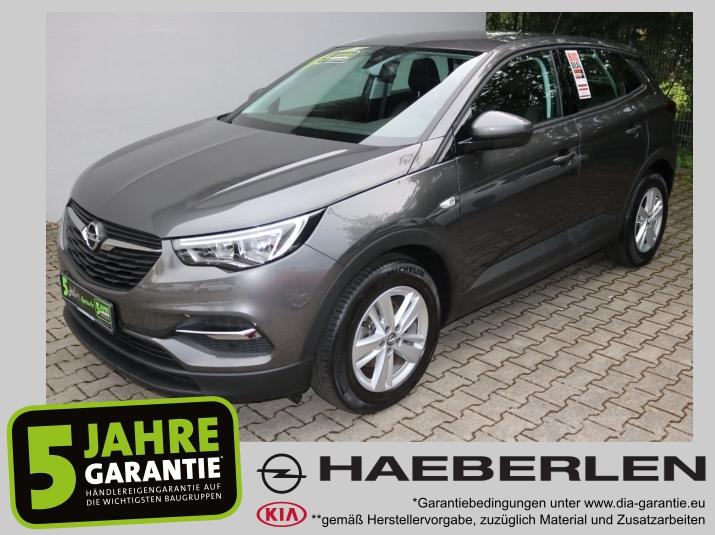 Opel Grandland X 1.2 Turbo Klimaautomatik PDC ALU, Jahr 2018, Benzin