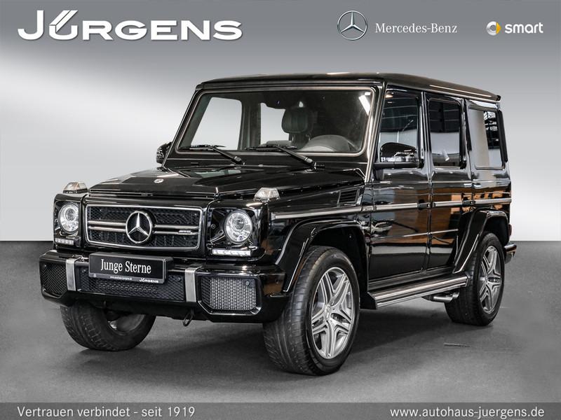 Mercedes-Benz G 63 AMG Comand/Cam/Park-P/AHK/Totw/Designo/20', Jahr 2017, Benzin