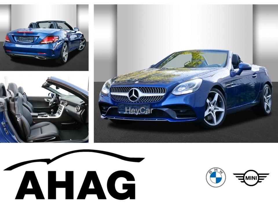 Mercedes-Benz SLC 180 Navi Leder Glasdach Xenon Bluetooth, Jahr 2016, Benzin