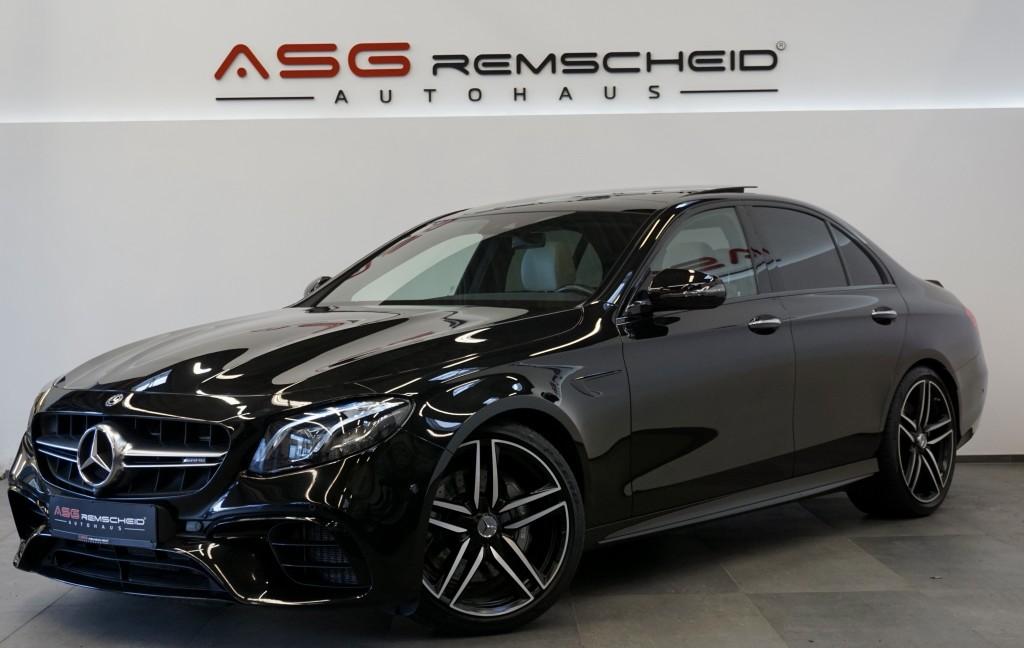 Mercedes-Benz E 63 AMG 4Matic+ *Widescreen *Pano *Sport-AbGas*, Jahr 2017, Benzin