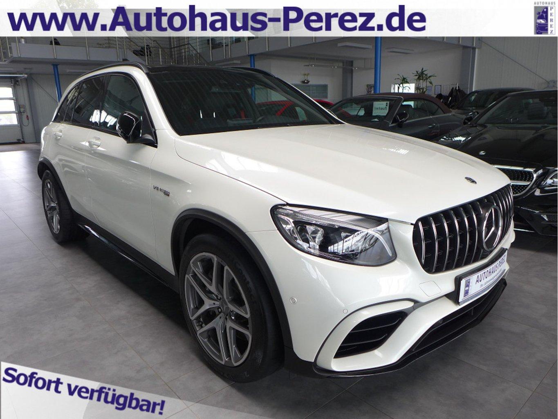 Mercedes-Benz GLC 63 AMG 4M+ 9-G NIGHT-COMAND-DISTR-PANO-AHK, Jahr 2018, Benzin