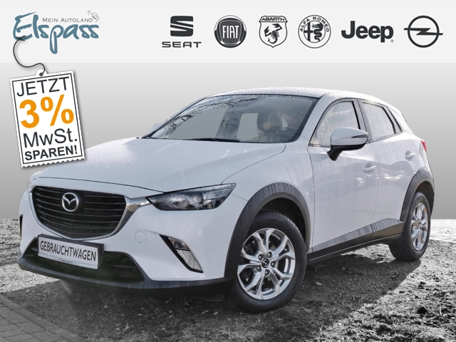 Mazda CX-3 Center-Line 2.0 SKYACTIV-G 120 KAMERA TEMPOM. KLIMAAUTO, Jahr 2016, Benzin