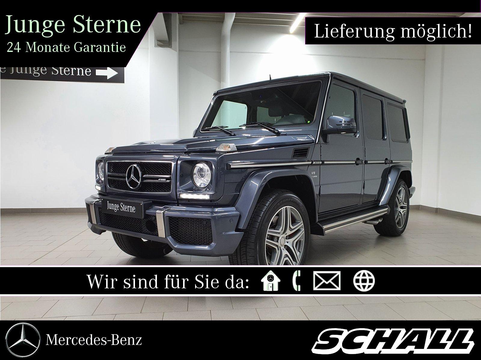 Mercedes-Benz G 63 AMG+DISTR+AHK+H&K+STANDHZ+BI-XENON+KAMERA, Jahr 2016, Benzin