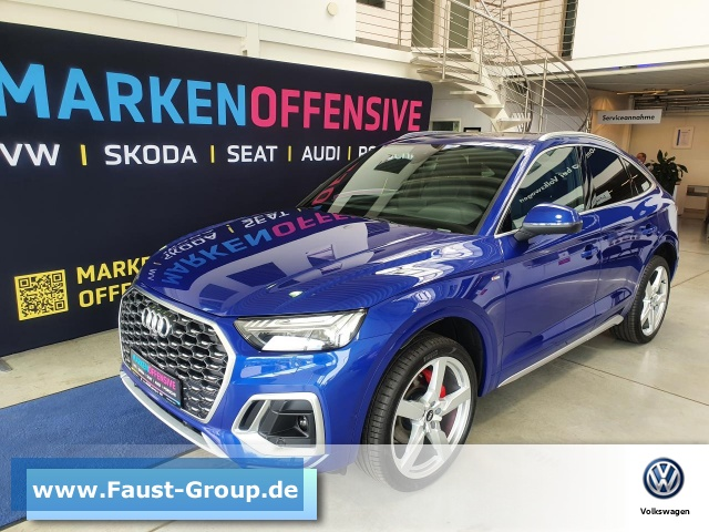 Audi Q5 Sportback Advanced Quattro S-Line S-Tronic, Jahr 2021, Diesel